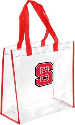 North Carolina State University Clear Reusable Bag