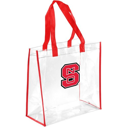 Forever Collectibles North Carolina State University Clear Reusable Bag
