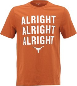 We Are Texas Men's University of Texas Alright Alright Alright T-shirt
