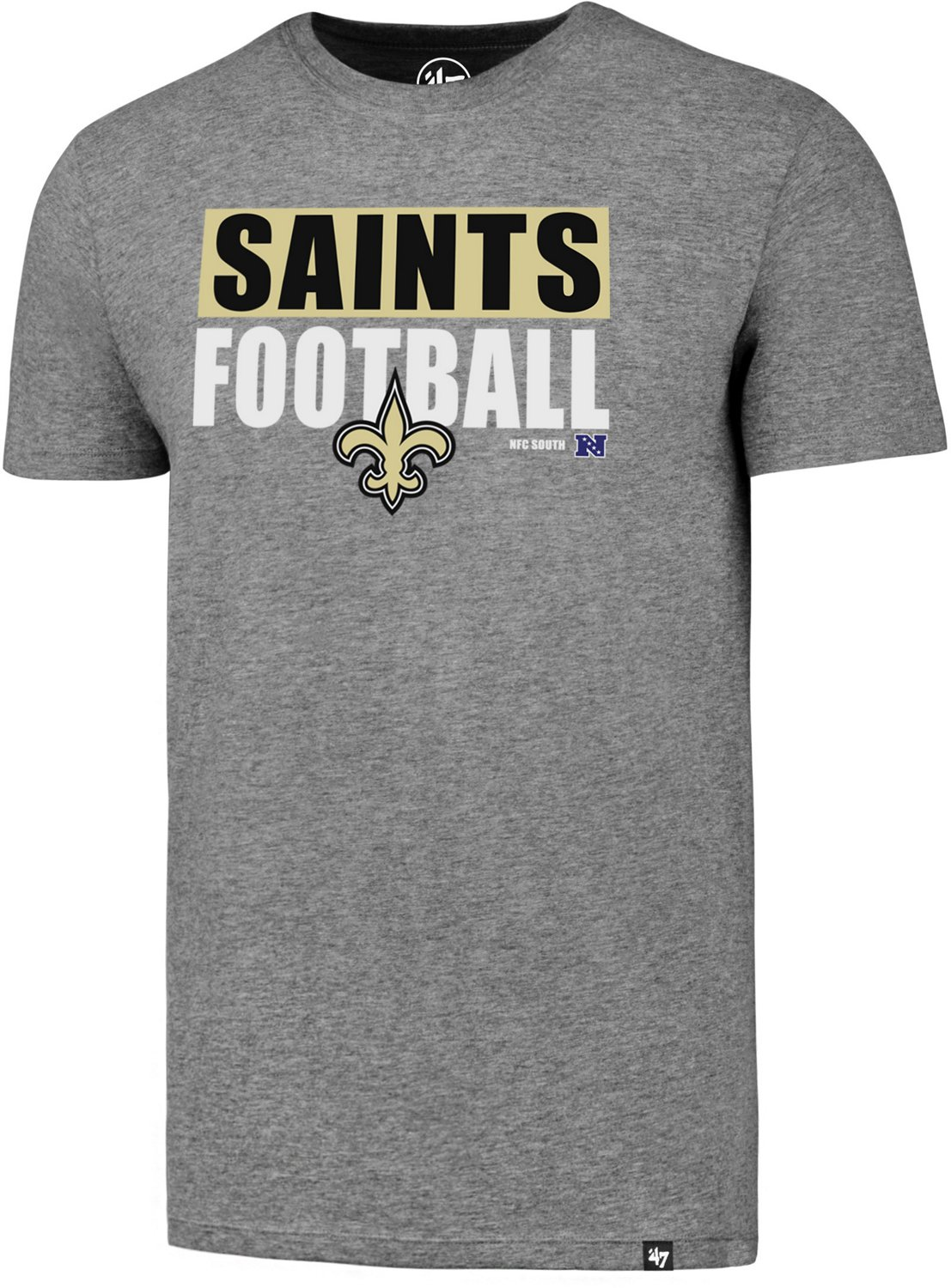 size 40 0f23a 3261a '47 New Orleans Saints Football Club T-shirt