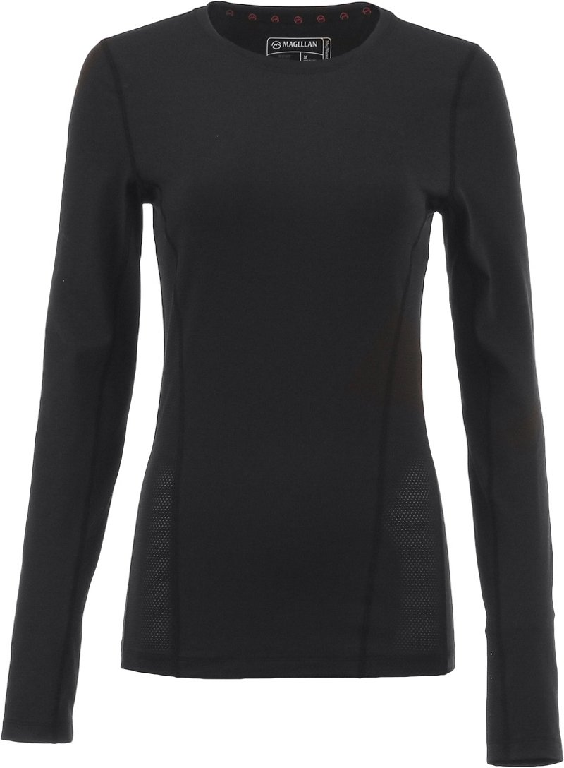 Magellan Outdoors Women's 2.0 Baselayer Long Sleeve Shirt With Scent Control - Camo Clothing, Camo Hunt Baselayer at Academy Sports thumbnail