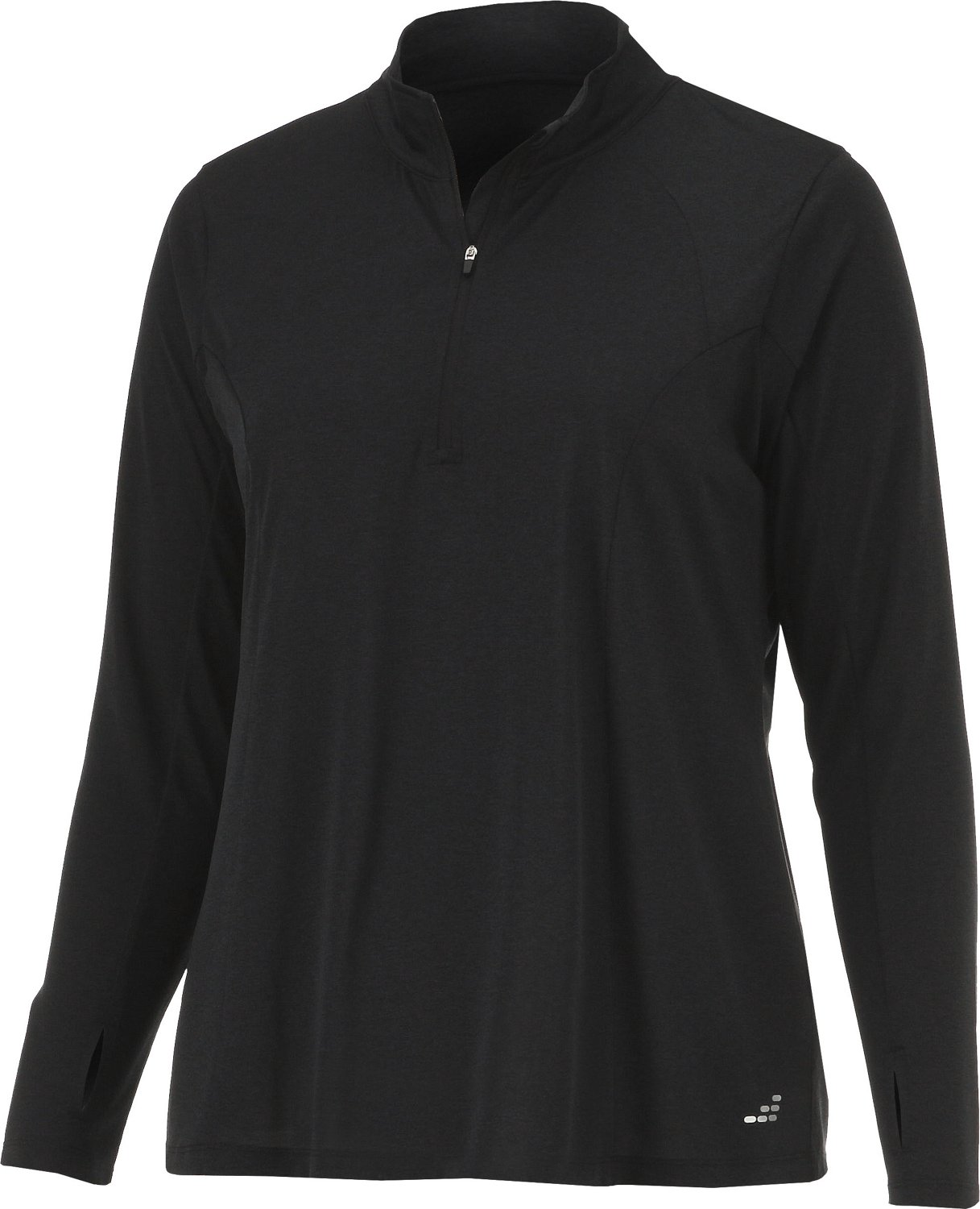 BCG Women's Turbo Plus Size 1/4 Zip Pullover - view number 1