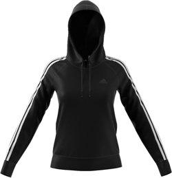 adidas Women's Essentials Cotton Fleece 3S Over Head Hoodie