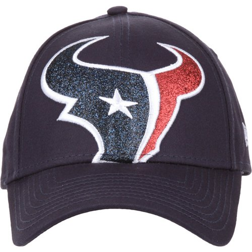 New Era Women's Houston Texans Glitter Glam 9FORTY Cap