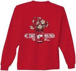 New World Graphics Women's North Carolina State University Bouquet Long Sleeve T-shirt