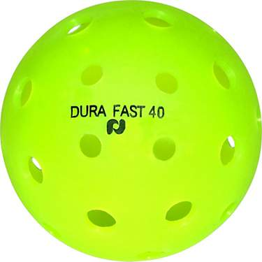 Pickle-ball DURA Fast 40 Outdoor Pickleball Balls 4-Pack