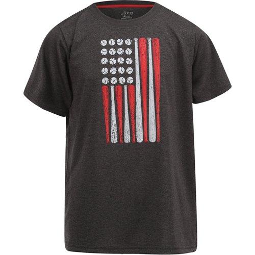 BCG Boys' USA Flag Short Sleeve T-shirt