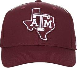 adidas Men's Texas A&M University Coach Structured Flex Cap