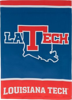 WinCraft Louisiana Tech University 2-Sided Garden Flag