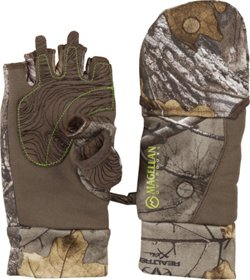 Magellan Outdoors Kids' Mesa Heavyweight Pop Top Camo Hunting Glove