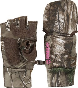 Magellan Outdoors Women's Mesa Heavyweight Pop Top Camo Hunting Glove