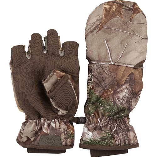 Magellan Outdoors Men's Mesa Heavyweight Pop Top Camo Hunting Glove