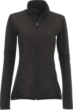 BCG Women's Cold Weather Quilted Front Jacket