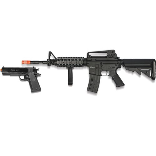 SIG SAUER Patrol Electric Airsoft Rifle and Pistol Kit