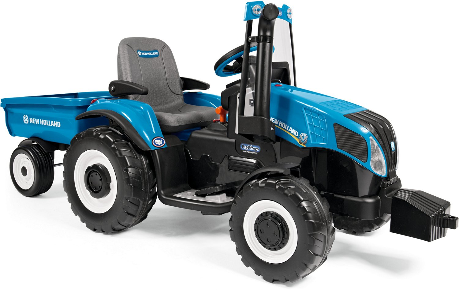 Peg Perego New Holland T8 Tractor 12 v Ride-On Vehicle - view number 2