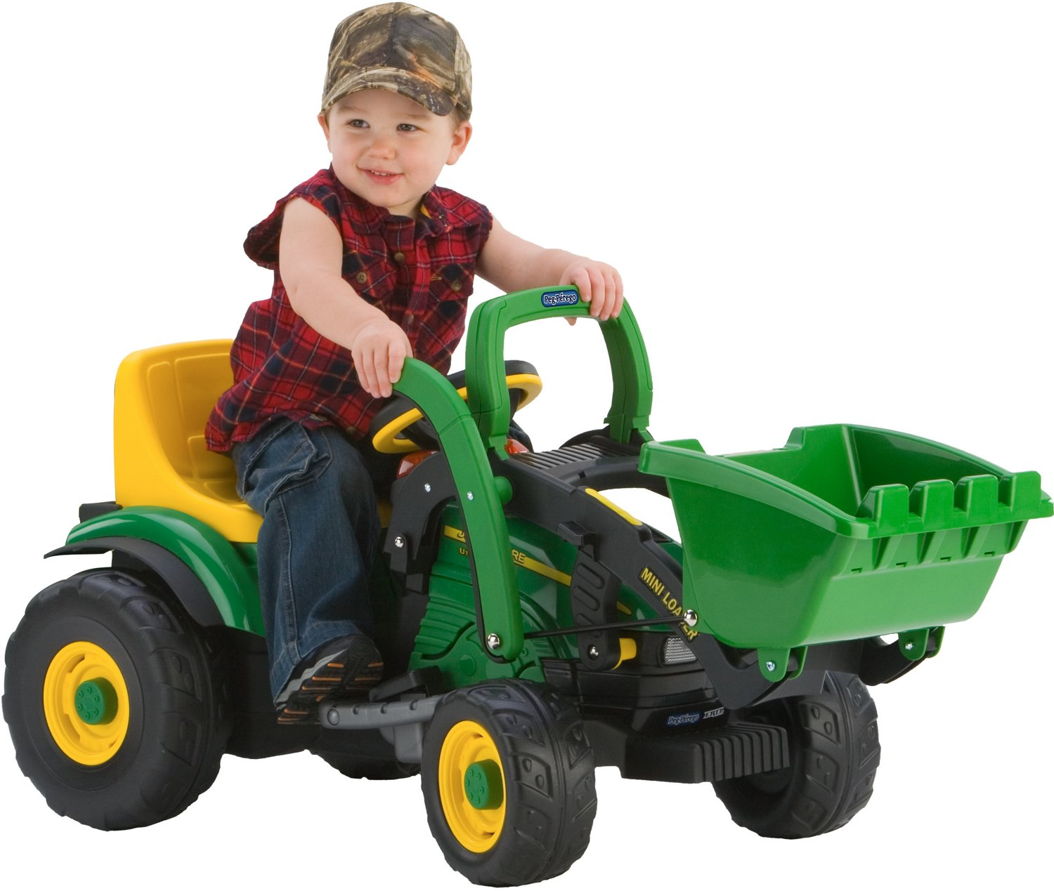 Peg Perego John Deere Mini Power Loader 6 v Ride-On Tractor - view number 3