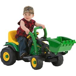 John Deere Mini Power Loader 6 v Ride-On Tractor