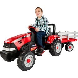 Case IH Tractor and Trailer Ride-On Pedal Vehicle