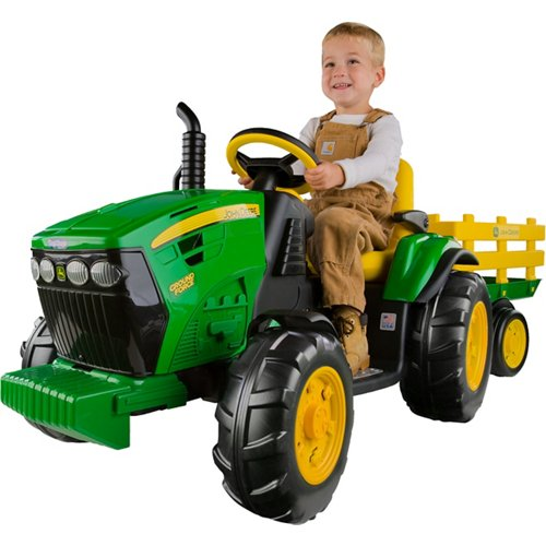 Peg Perego John Deere Ground Force 12 v Ride-On Tractor