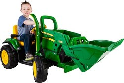 Peg Perego John Deere Ground Loader 12 v Ride-On Vehicle