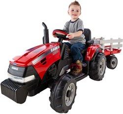 Case IH Magnum Tractor 12 V Ride-On Vehicle