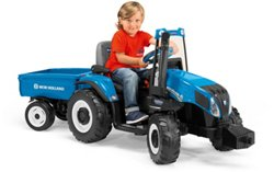 Peg Perego New Holland T8 Tractor 12 v Ride-On Vehicle