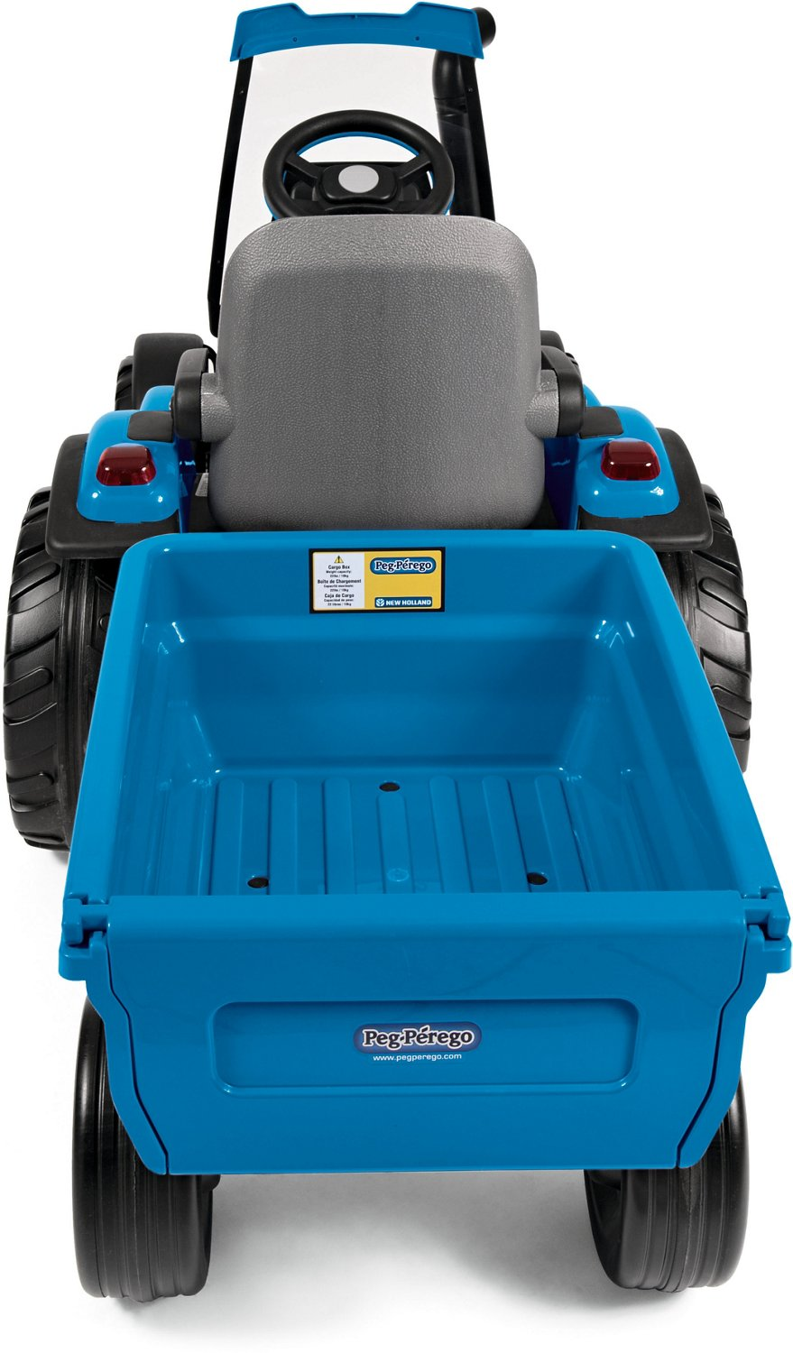 Peg Perego New Holland T8 Tractor 12 v Ride-On Vehicle - view number 1