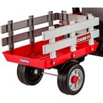 Peg Perego Case IH Tractor and Trailer Ride-On Pedal Vehicle - view number 2