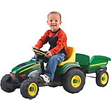 Peg Perego John Deere Farm Tractor and Trailer Ride-On Pedal Vehicle
