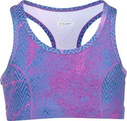 BCG Girls' Studio Printed Moisture Wicking Sports Bra