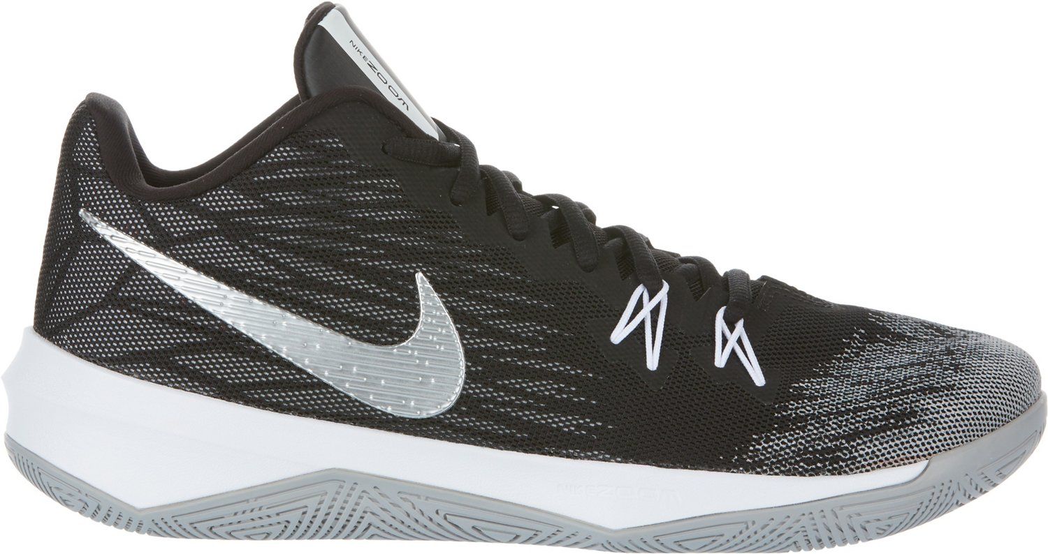 Nike Men's Zoom Evidence II Basketball Shoes - view number 3