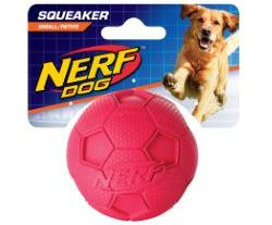 NERF Dog 3.25 in Soccer Squeak Ball
