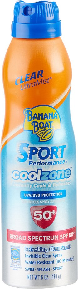Banana Boat® 6 oz. Ultramist Sport Performance Coolzone SPF 50 Sunscreen