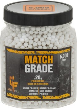 Crosman Match Grade 0.20 g BBs 5,000-Pack