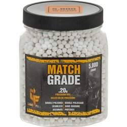 Match Grade 0.20 g BBs 5,000-Pack