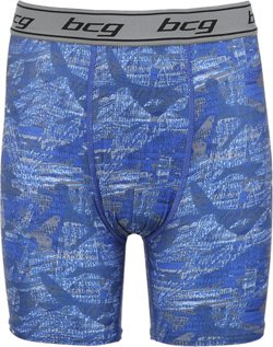 BCG Boys' Printed Compression Brief