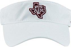 adidas Men's Texas A&M University Coach Adjustable Visor