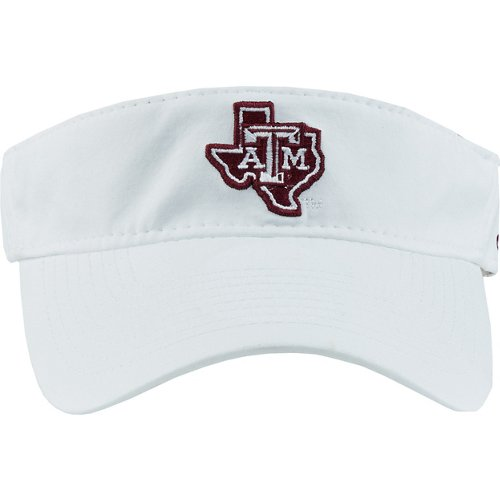 adidas Men's Texas A&M University Coach Adjustable Visor