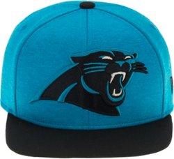 New Era Men's Carolina Panthers Heather Huge Snapback 9FIFTY Cap