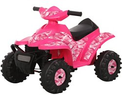 RollPlay Girls' 6 V Camo Mini Quad