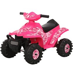 Girls' 6 V Camo Mini Quad