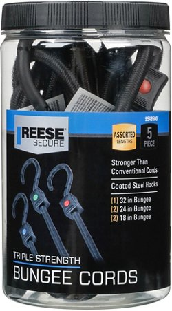 Reese Secure Triple Strength Bungee Cords Assortment