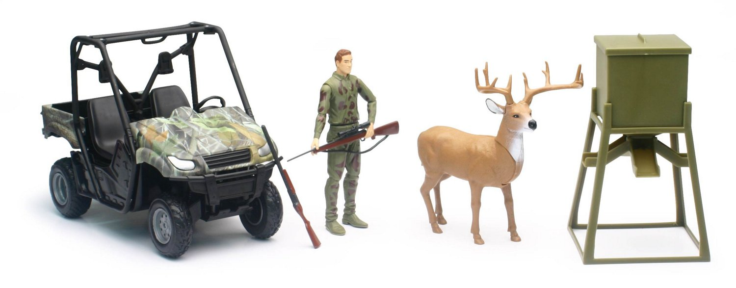 New-Ray Toys Wildlife Hunter Camo Hunting Vehicle Play Set - view number 1