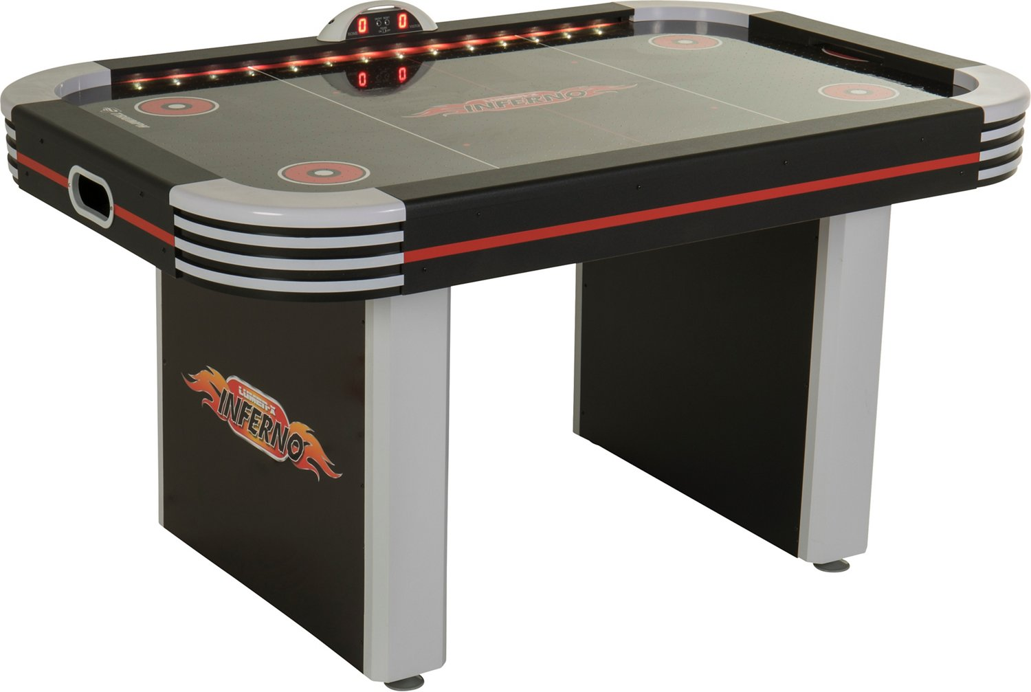 Triumph Inferno 5 Ft Light Up Air Hockey Table