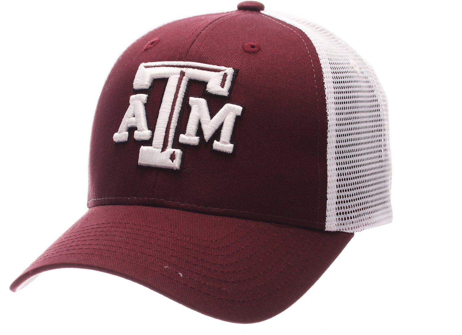 best sneakers 67ac3 8cf2c Zephyr Men s Texas A M University Big Rig 2-Tone Mesh Back Cap   Academy