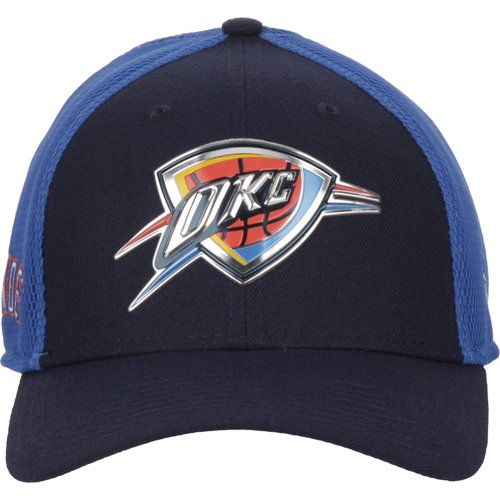 aab20602e2c New Era Men s Oklahoma City Thunder On Court 2-Tone 39THIRTY Cap - view  number ...