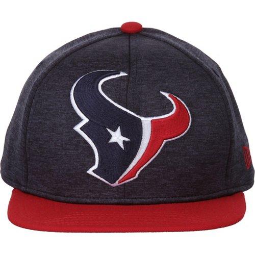 New Era Men's Houston Texans Heather Huge Snapback 9FIFTY Cap