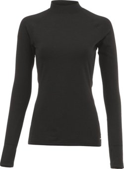 BCG Women's Training Long Sleeve Mock Neck Cold Weather Top