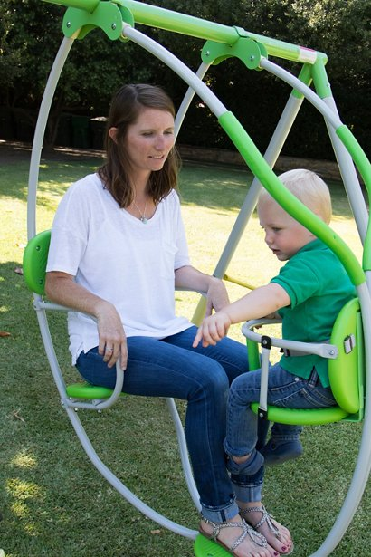 Sportspower Spring Breeze Me And My Toddler Swing Set Academy