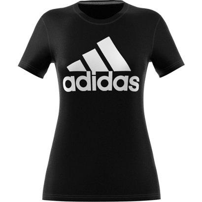 adidas Women s Badge of Sport Logo T-shirt  c438ec36e2